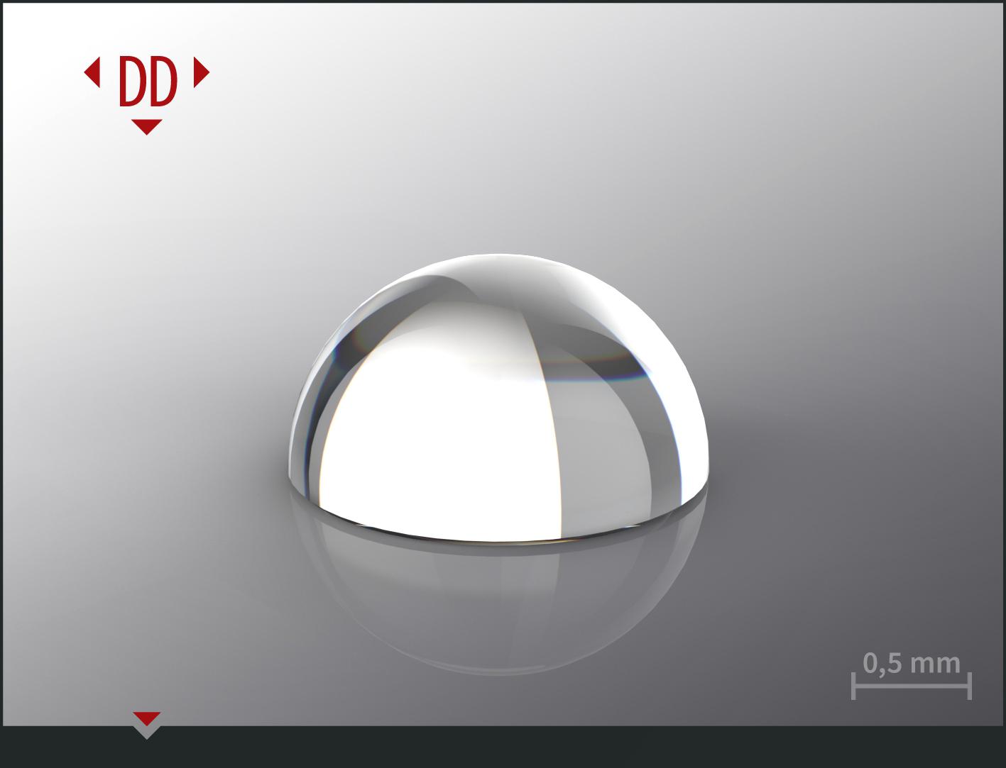 Halve sphere