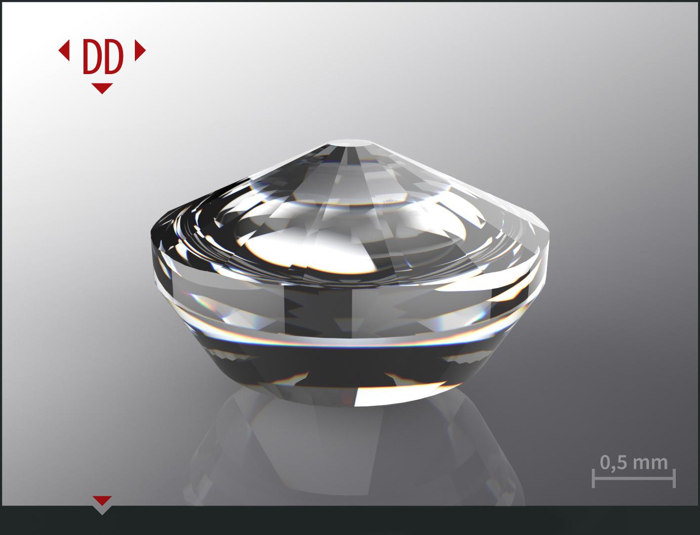 Spherical anvil